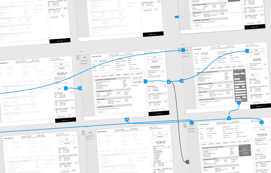 Equitable Acceptance Wireframes