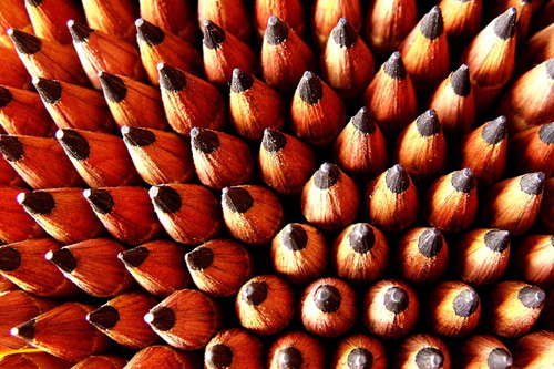 Photo of many pencils